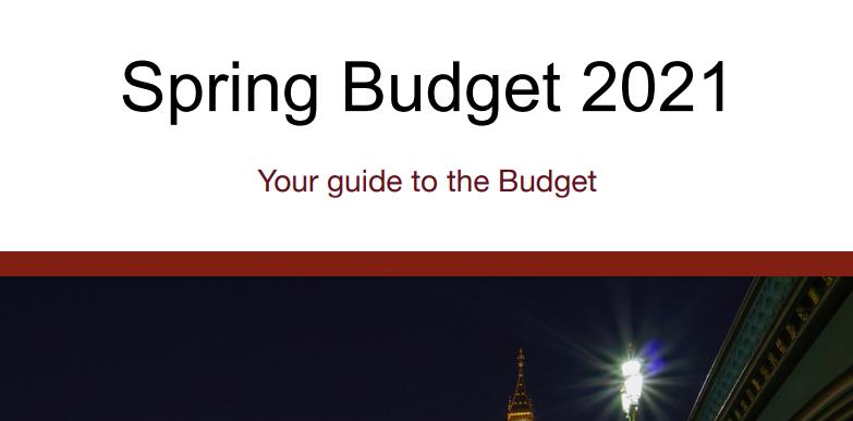 spring budget 2021